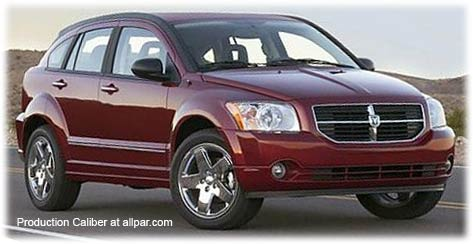 Dodge Caliber: little SUVs   Peake Ram Fiat