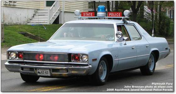 history  chrysler dodge  plymouth police cars